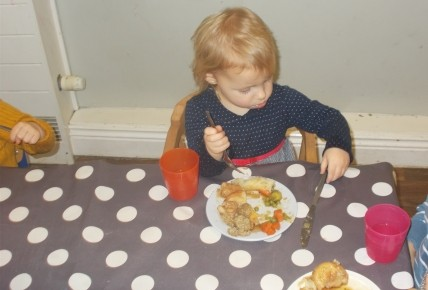 Christmas Dinner Day Photo-1