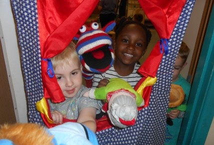Puppet show fun Photo-1