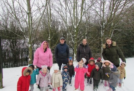 Snow fun at Meridian Photo-1