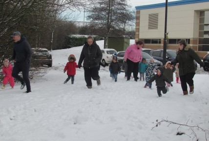 Snow fun at Meridian Photo-3