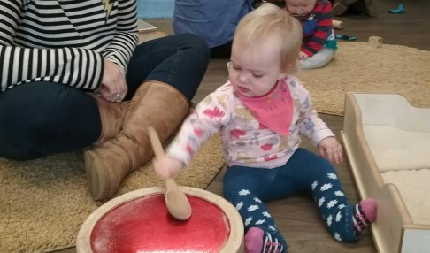 Baby Stay and Play Group  Mon. 15th Jan.10am-11am