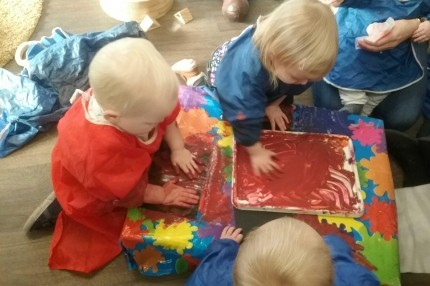 Baby Group Monday 22nd Messy Play