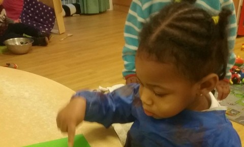 The Toddler Blog- Cabbage Painting Photo-2