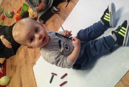 The Toddler Blog- Mark Making Photo-4