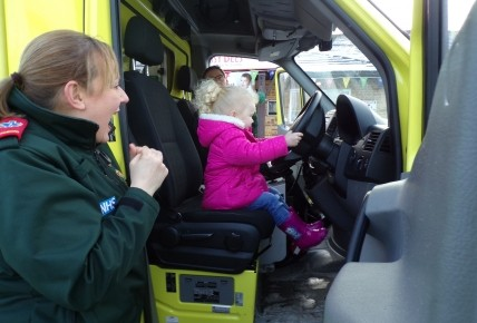 Enrolment Week - North East Ambulance Service Photo-3