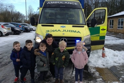 Enrolment Week - North East Ambulance Service Photo-4