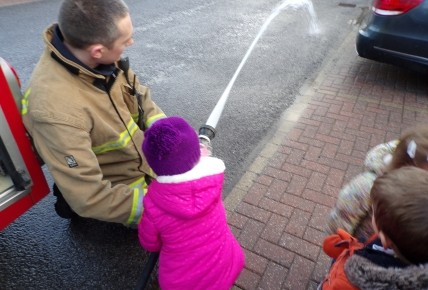 Farringdon Fire Station visit! Photo-1