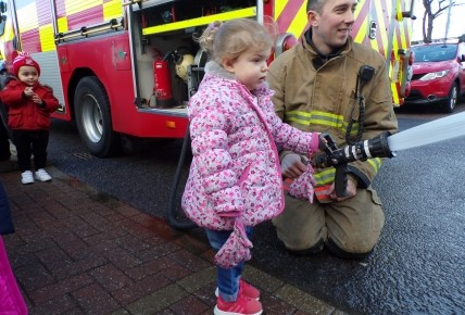 Farringdon Fire Station visit! Photo-2