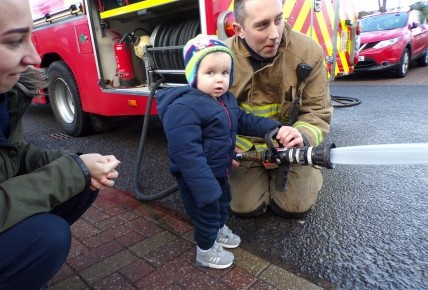 Farringdon Fire Station visit! Photo-3