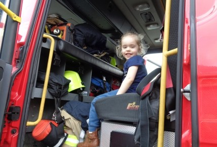 When the Fire Brigade came to nursery Photo-1