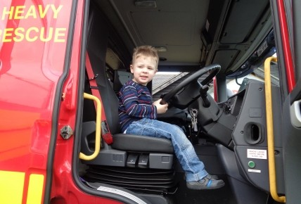 When the Fire Brigade came to nursery Photo-4