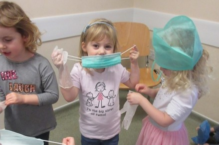 Pre-school children visited the local vet's  Photo-3