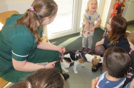 Pre-school children visited the local vet's  Photo-4