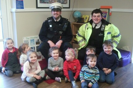 Police visit Busy Bees Bromborough