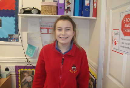Amy is studying towards a level 3 in childcare