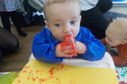Busy Bees at Wakefield - Baby Group: Valentines Day