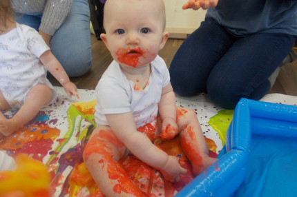 Baby Group: Let's get messy!