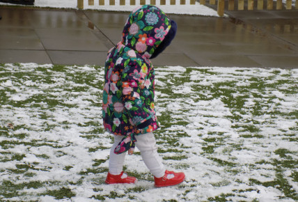 Snow fun at Busy Bees Leicester Meridian Photo-1