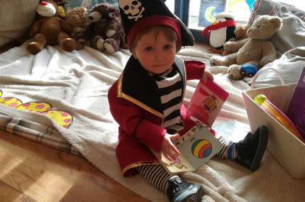 Pirate themed for a rescheduled World Book Day