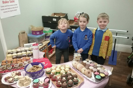 Sports Relief Bake Sale