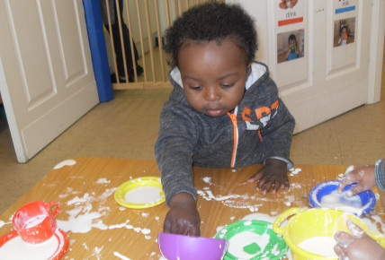 Cornflour Tea Party! Photo-4
