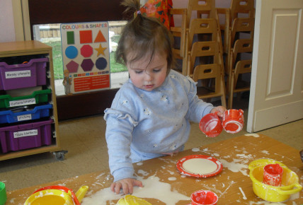 Cornflour Tea Party! Photo-5
