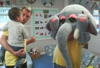 Elephant Tea Party Photo-3