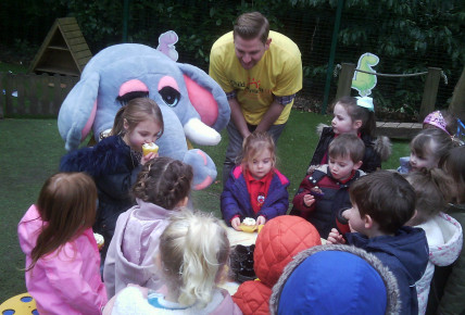 Elephant Tea Party Photo-5