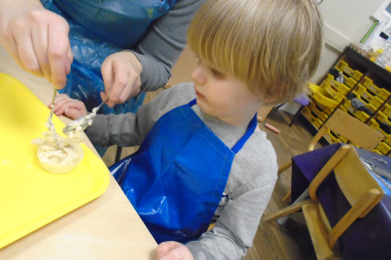 Baking Fun in Preschool