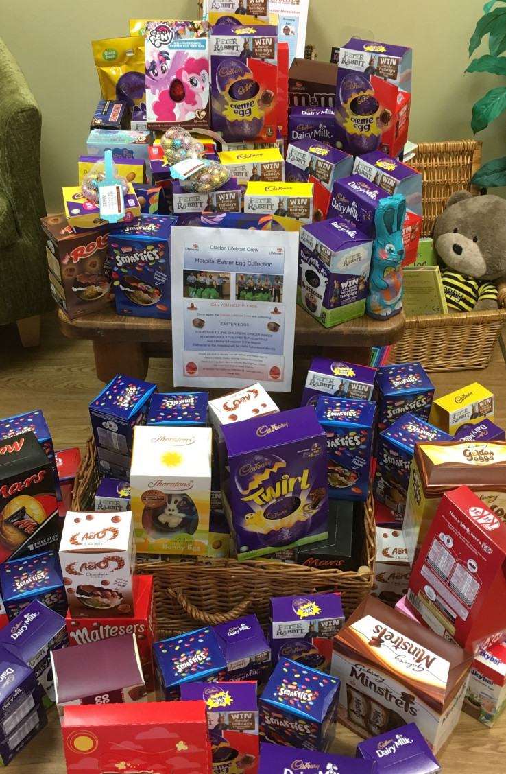 Easter Egg Charity Collection!