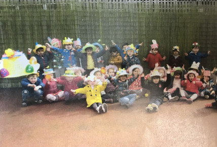 Easter bonnet 2018 Busy Bees QE Photo-2