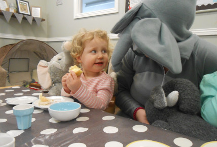 Elephant's Tea Party Photo-1