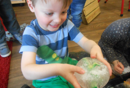 Melting Frozen Dinosaur Eggs Photo-3