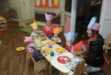 Elephants Tea Party Photo-1