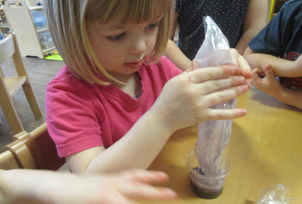Children experiment during British Science Week Photo-1