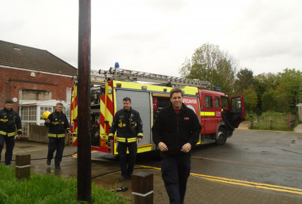 Visit from London Fire Brigade Photo-1