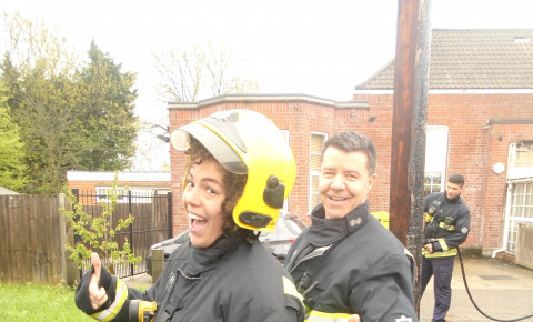 Visit from London Fire Brigade Photo-2