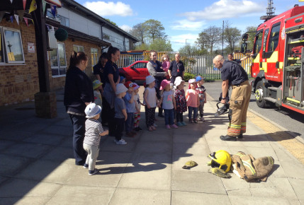 Farringdon Community Fire Station Visit! Photo-3