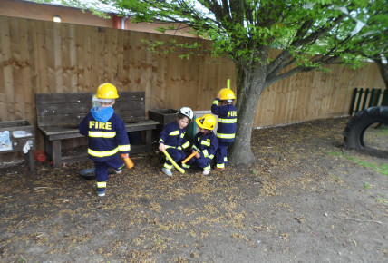Fire Firefighters Visit Photo-3