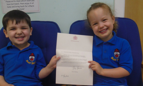 A Letter from the Queen! Photo-2