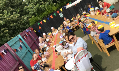 Our Royal Wedding Tea Party Photo-4