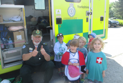 Community Engagement Ambulance  Photo-2