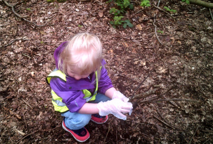 Forest school inspired lessons with Pre-school Photo-1