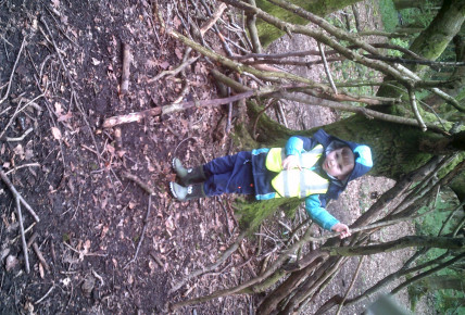 Forest school inspired lessons with Pre-school Photo-2