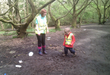 Forest school inspired lessons with Pre-school Photo-3