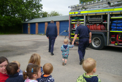 When the Fire Brigade came to Southwell Photo-1