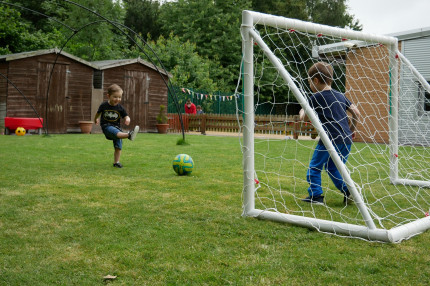 Football fun at Busy Bees Shrewsbury