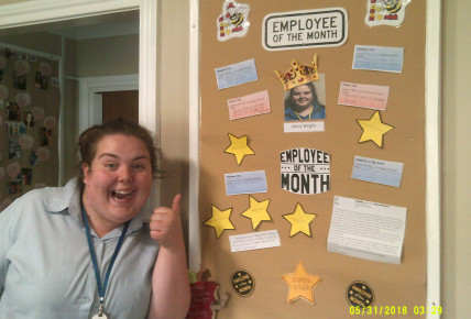 Employee Of The Month @ Busy Bees Glenrothes Photo-1