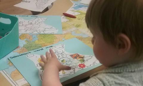 The Nursery Blog- Map Making with Toddlers Photo-1