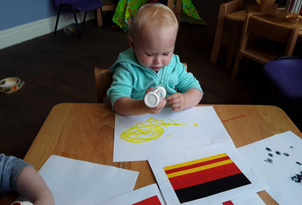 Creating our own flags! Photo-1